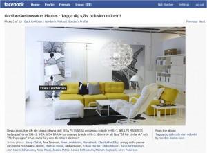 Gordon Gustavsson IKEA tagged Facebook photo