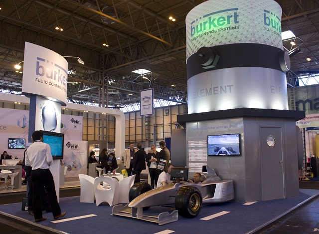 Virtual Exhibition Stand : Virtual exhibitions process industry events burkert