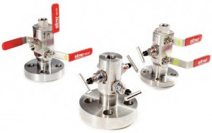 Double Block And Bleed Valves Reduced Weight Space
