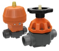 PVC diaphragm valves