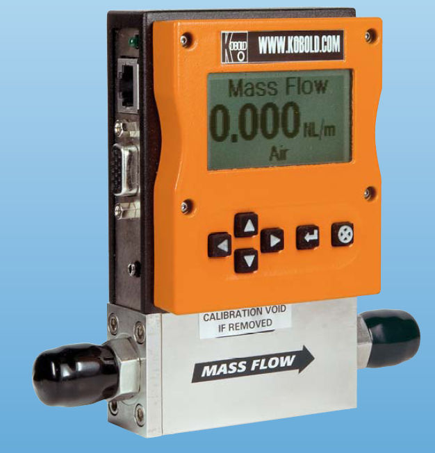 A Device That Measures Weight : Flow meters for gas measurement mas flowmeter kobold