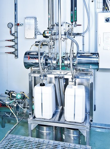 Bürkert's range of ELEMENT Process valves with AS-i communication capabiltiies have been installed in the plant's of pharmaceutical leaders, UNITHER to increase flexibility and increase efficiency of the application.