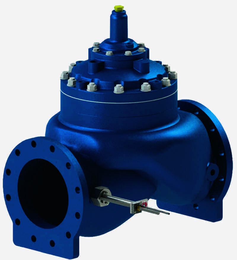 Single Point Insertion Flow Metering Valve